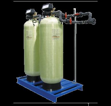Two ECI fiberglass filters
